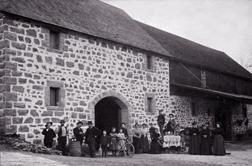 1898年設立当初のワイナリー