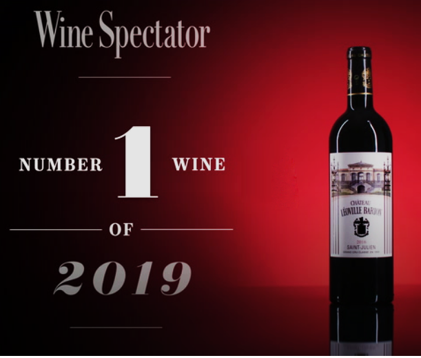 Wine Spectator Magazine  #1 wine of 2019