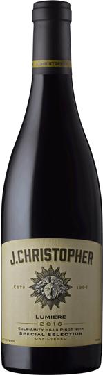 J. Christopher Pinot Noir Lumiére Eola-Amity Hills Cuvee