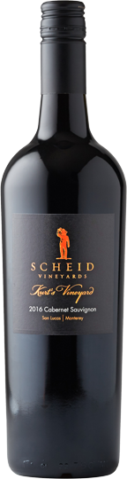 Scheid Vineyards Cabernet Sauvignon Kurt's Vineyard